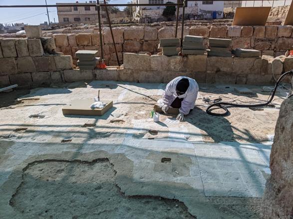 UNESCO, GIZ preserve unique mosaic heritage in Rihab