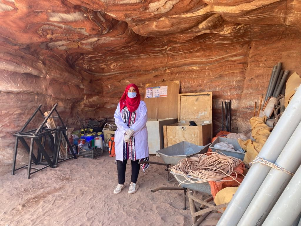Cultural heritage preservation fosters women employment in Petra during pandemic