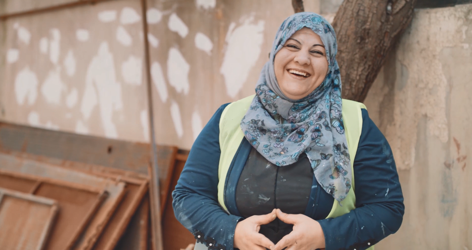 Breaking stereotypes: woman opens home construction business in Jordan
