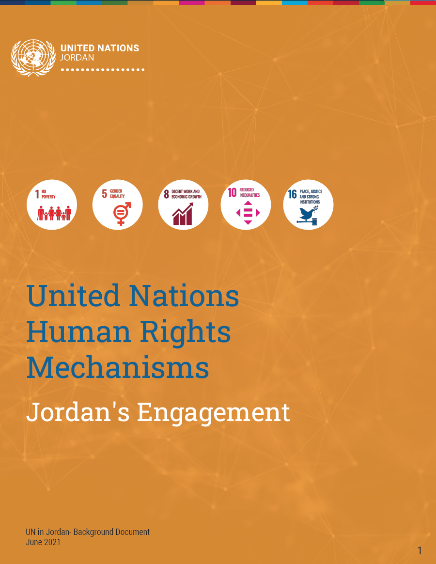 United Nations Human Rights Mechanisms Jordan's Engagement