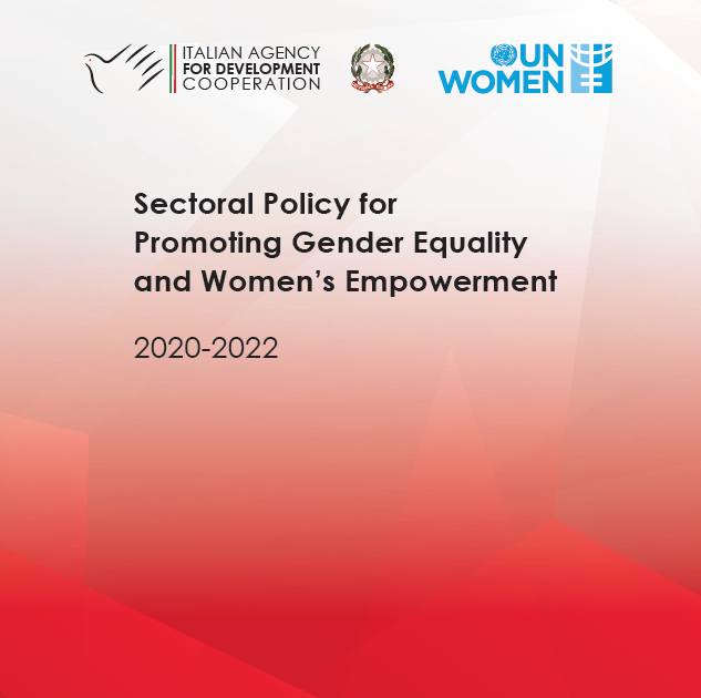 Sectoral Policy for Promoting Gender Equality and Women's Empowerment