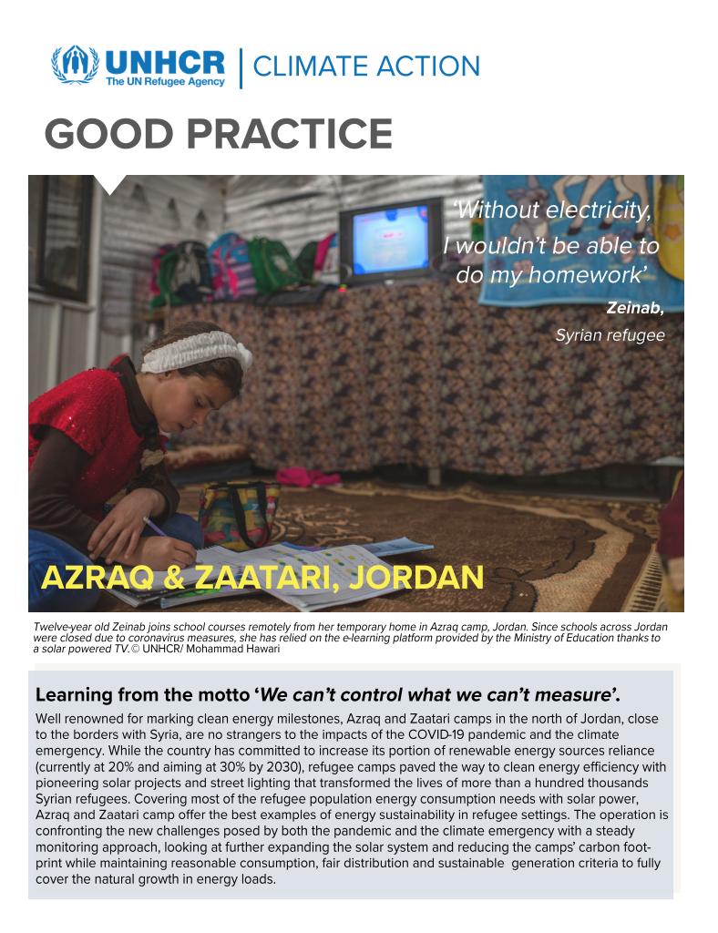 Jordan Climate Action Good Practice
