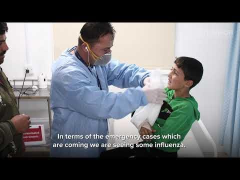 Jordan: Health clinic serves refugees while preparing for coronavirus