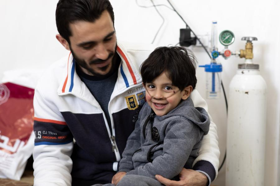 Abdel-Rahman's family are struggling to pay the costs of his medical needs.