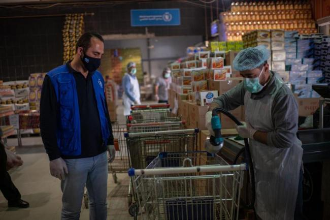 WFP is working to beat food insecurity in Jordan amid COVID-19 pandemic